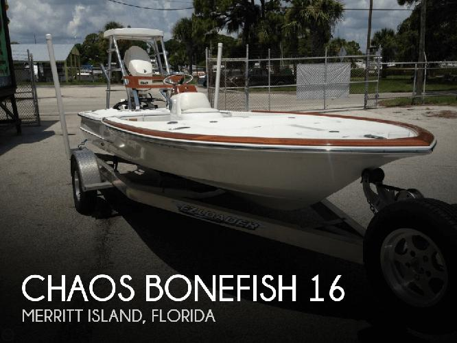 2012 Chaos Bonefish 16 2012 Yacht In Merritt Island Fl 4427679161 Used Boats On Oodle