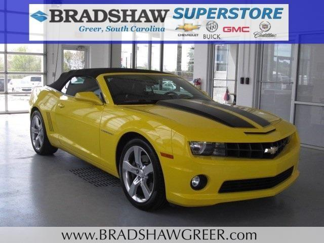 2012 chevrolet camaro 2d convertible ss for sale in greer south carolina classified. Black Bedroom Furniture Sets. Home Design Ideas