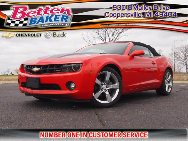 2012 chevrolet camaro 2lt coopersville mi for sale in. Black Bedroom Furniture Sets. Home Design Ideas
