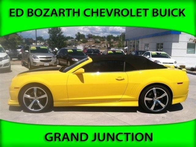 2012 chevrolet camaro convertible 1ss for sale in grand junction colorado classified. Black Bedroom Furniture Sets. Home Design Ideas