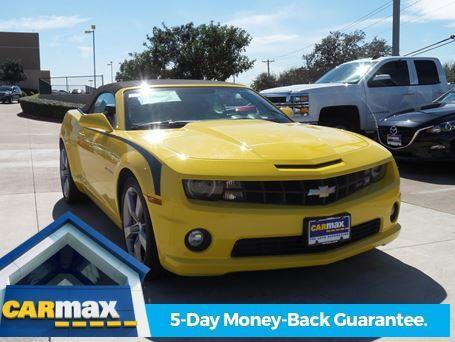 2012 Chevrolet Camaro Ss Ss 2dr Convertible W 2ss For Sale