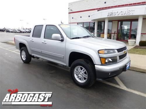 2012 chevrolet colorado truck crew cab 1lt for sale in troy ohio classified. Black Bedroom Furniture Sets. Home Design Ideas