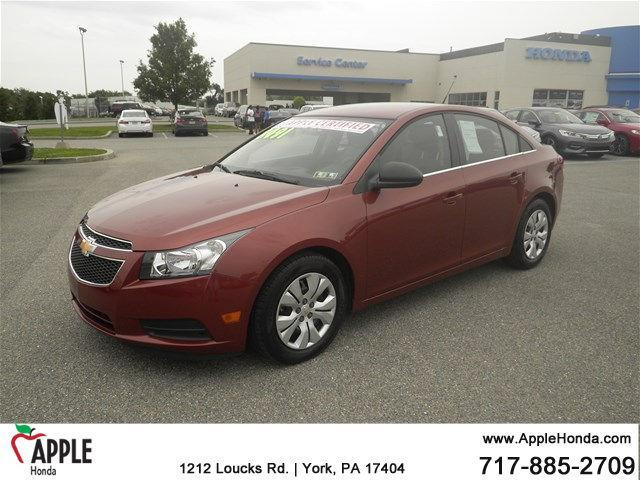 2012 chevrolet cruze ls ls 4dr sedan for sale in york pennsylvania. Cars Review. Best American Auto & Cars Review