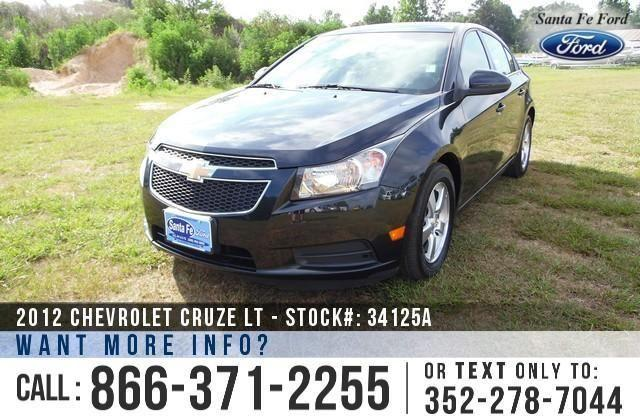2012 Chevrolet Cruze LT - 72K Miles - Financing