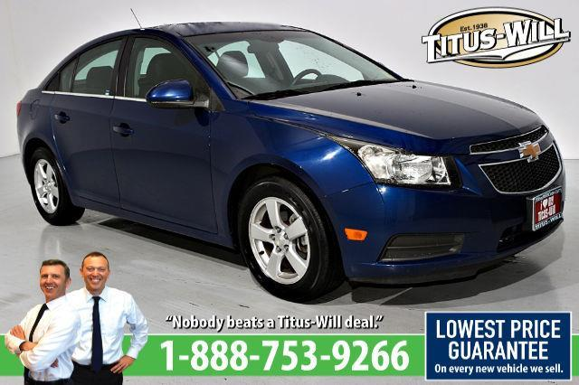 2012 Chevrolet Cruze LT Fleet LT Fleet 4dr Sedan