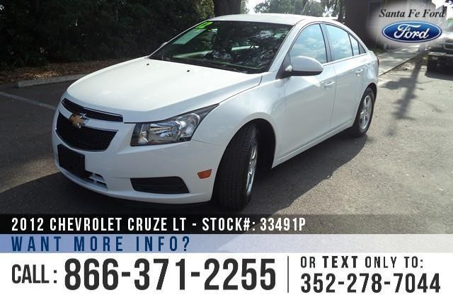 2012 Chevrolet Cruze LT w1LT - 56K Miles - On-Site