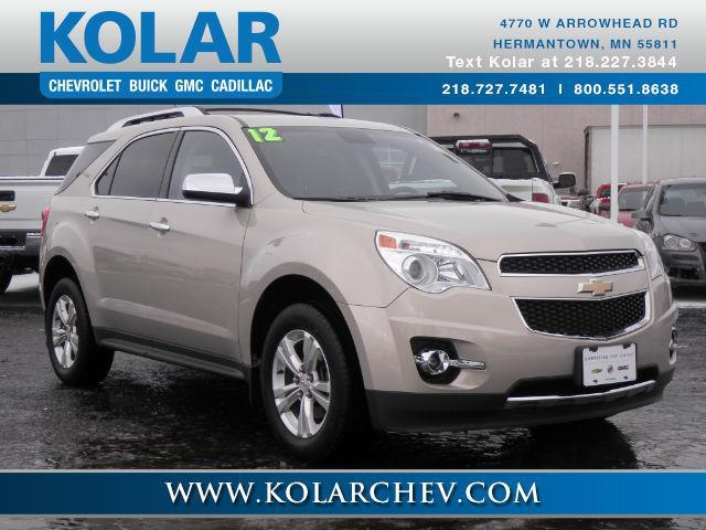 2012 chevrolet equinox ltz awd ltz 4dr suv for sale in duluth minnesota classified. Black Bedroom Furniture Sets. Home Design Ideas