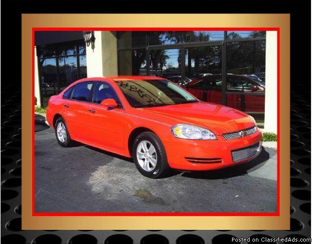 2012 chevrolet impala ls fleet red and ready to drive for sale in tallahassee florida. Black Bedroom Furniture Sets. Home Design Ideas