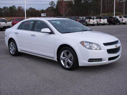 2012 CHEVROLET MALIBU SEDAN 4 DOOR LT w/2LT