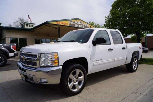 2012 Chevrolet Silverado 1500 Crew Cab Lt For Sale In