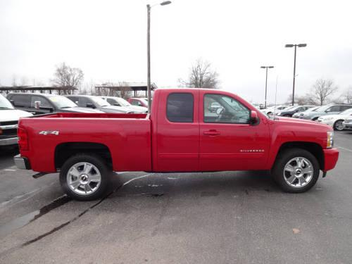 2012 chevrolet silverado 1500 extended cab pickup 4x4 ltz for sale in troy ohio classified. Black Bedroom Furniture Sets. Home Design Ideas