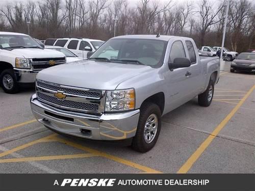 2012 chevrolet silverado 1500 truck 4wd ext cab 143 5