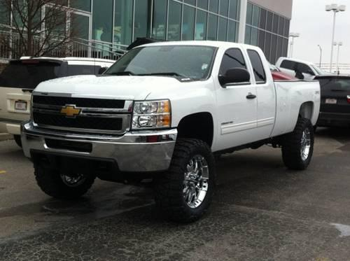 2012 chevrolet silverado 2500hd 4d extended cab lt for sale in fort wayne indiana classified. Black Bedroom Furniture Sets. Home Design Ideas