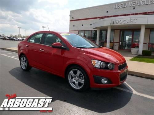 2012 chevrolet sonic sedan 2lz for sale in troy ohio classified. Black Bedroom Furniture Sets. Home Design Ideas