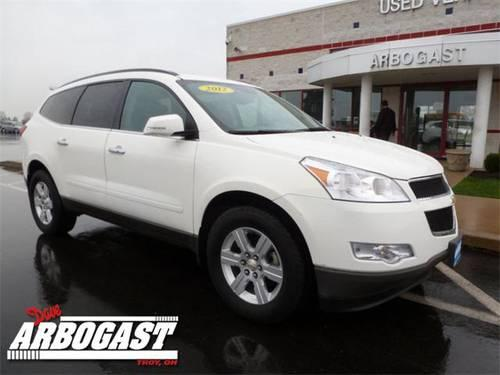 2012 chevrolet traverse suv lt for sale in troy ohio classified. Black Bedroom Furniture Sets. Home Design Ideas