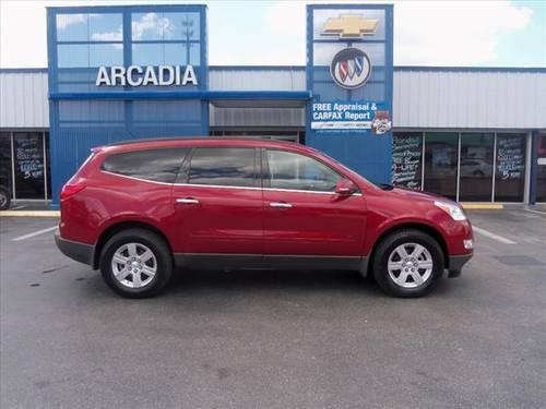2012 chevrolet traverse suv lt for sale in arcadia florida classified. Black Bedroom Furniture Sets. Home Design Ideas