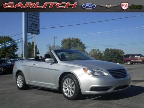 2012 chrysler 200 2 door convertible for sale in north vernon indiana classified. Black Bedroom Furniture Sets. Home Design Ideas