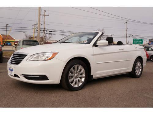 2012 chrysler 200 convertible convertible touring for sale in east hanover new jersey. Black Bedroom Furniture Sets. Home Design Ideas