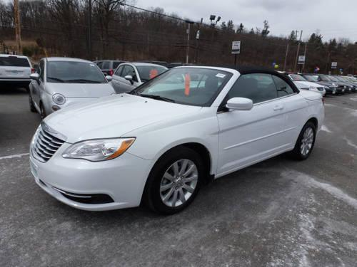 2012 chrysler 200 convertible convertible touring for sale in beemerville new jersey classified. Black Bedroom Furniture Sets. Home Design Ideas