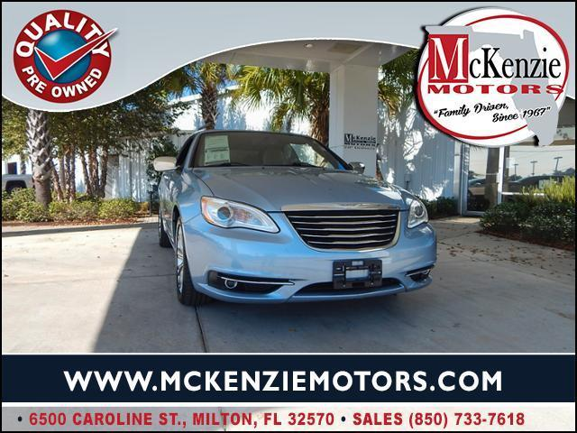 2012 Chrysler 200 Convertible Limited Limited 2dr
