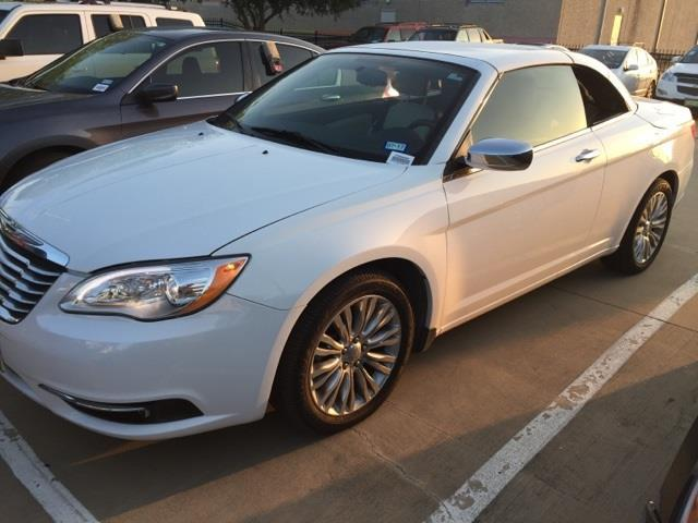 2012 chrysler 200 convertible limited limited 2dr convertible for sale in rockwall texas. Black Bedroom Furniture Sets. Home Design Ideas