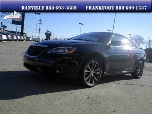 2012 chrysler 200 convertible s for sale in danville kentucky classified. Black Bedroom Furniture Sets. Home Design Ideas