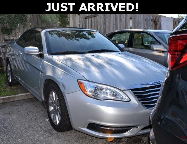 2012 chrysler 200 convertible touring touring 2dr convertible for sale in saint augustine. Black Bedroom Furniture Sets. Home Design Ideas