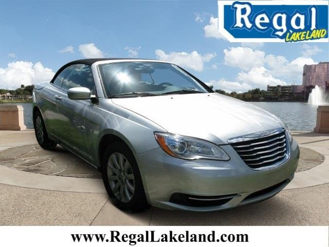 2012 chrysler 200 convertible touring touring 2dr convertible for sale in lakeland florida. Black Bedroom Furniture Sets. Home Design Ideas