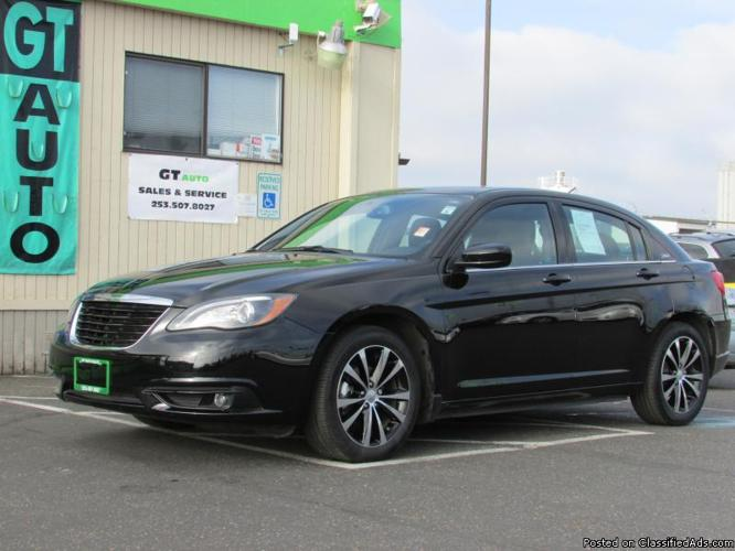 2012 chrysler 200 s for sale in tacoma washington classified. Black Bedroom Furniture Sets. Home Design Ideas