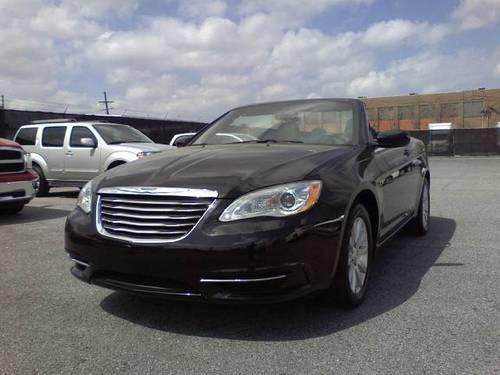 2012 chrysler 200 touring convertible 2d for sale in metairie louisiana classified. Black Bedroom Furniture Sets. Home Design Ideas