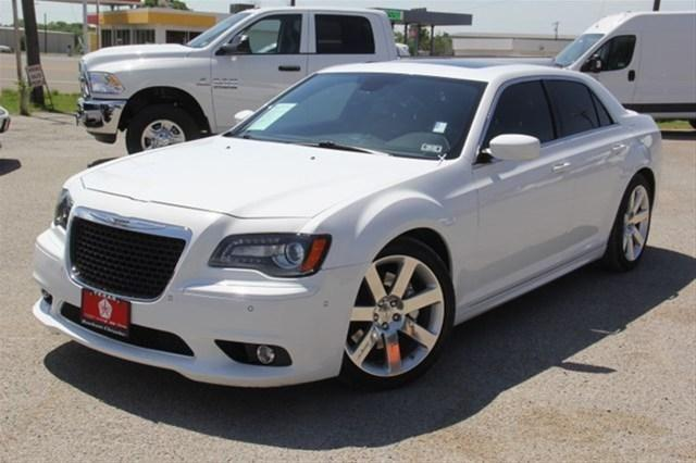 2012 chrysler 300 sedan srt8 for sale in bonham texas. Black Bedroom Furniture Sets. Home Design Ideas