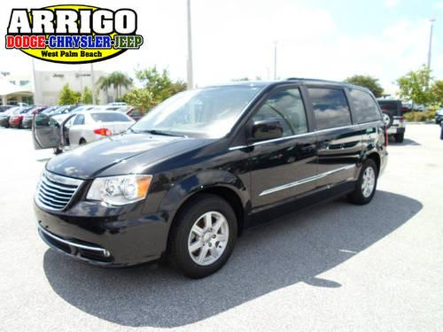 2012 chrysler town and country mini van touring for sale in west palm beach florida classified. Black Bedroom Furniture Sets. Home Design Ideas
