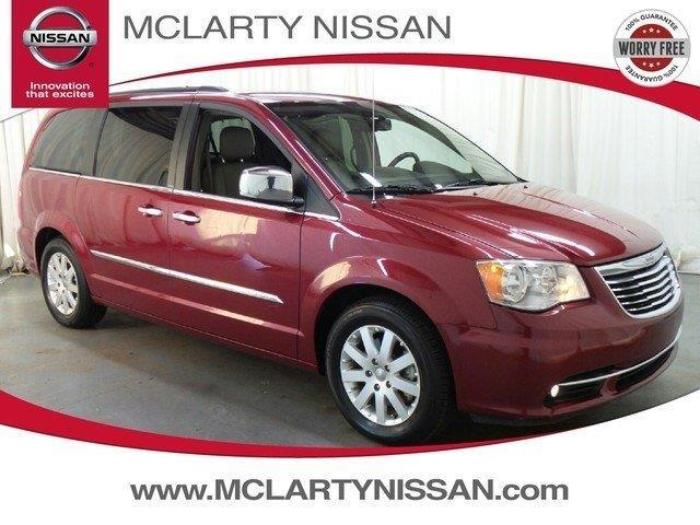 2012 chrysler town and country touring l touring l 4dr mini van for sale in north little rock. Black Bedroom Furniture Sets. Home Design Ideas