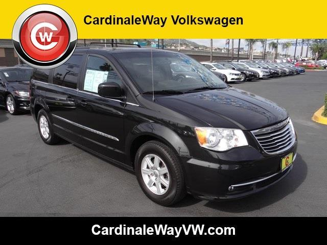 2012 chrysler town and country touring touring 4dr mini van for sale in corona california. Black Bedroom Furniture Sets. Home Design Ideas