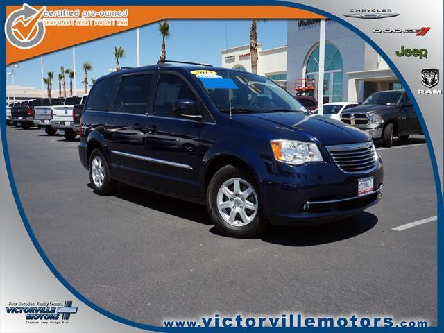 2012 chrysler town and country touring touring 4dr mini van for sale in victorville california. Black Bedroom Furniture Sets. Home Design Ideas