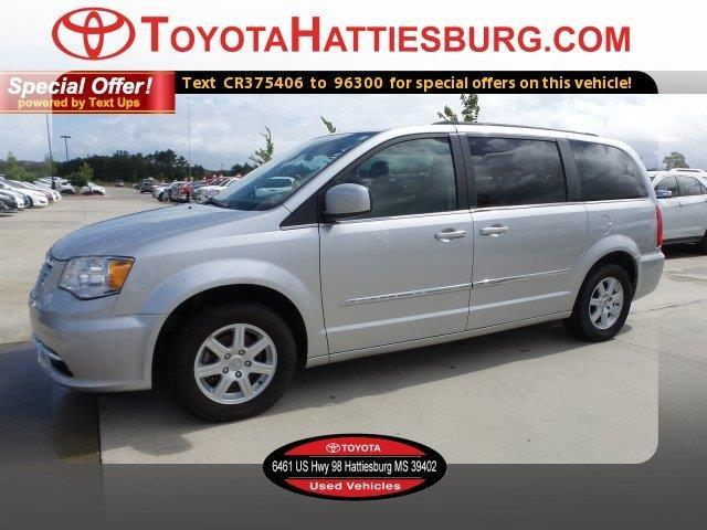 2012 chrysler town and country touring touring 4dr mini van for sale in hattiesburg mississippi. Black Bedroom Furniture Sets. Home Design Ideas
