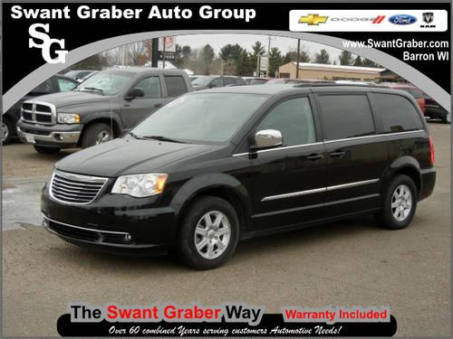 2012 chrysler town and country van touring l 4dr mini van for sale in poskin wisconsin. Black Bedroom Furniture Sets. Home Design Ideas