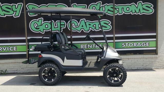 2012 Club Car Precedent Golf Cart With Black Silver Matte