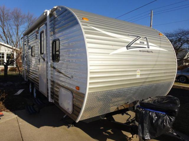2012 Crossroads Z1 Travel Trailer