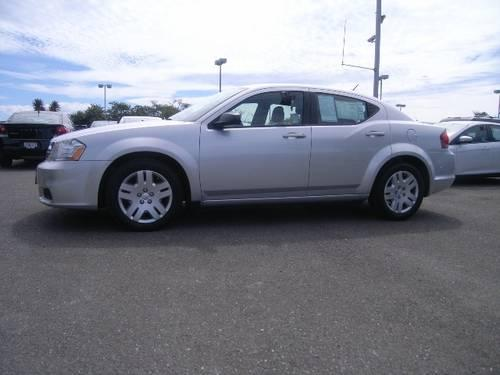 2012 Dodge Avenger 4dr Front-wheel Drive Sedan SE SE