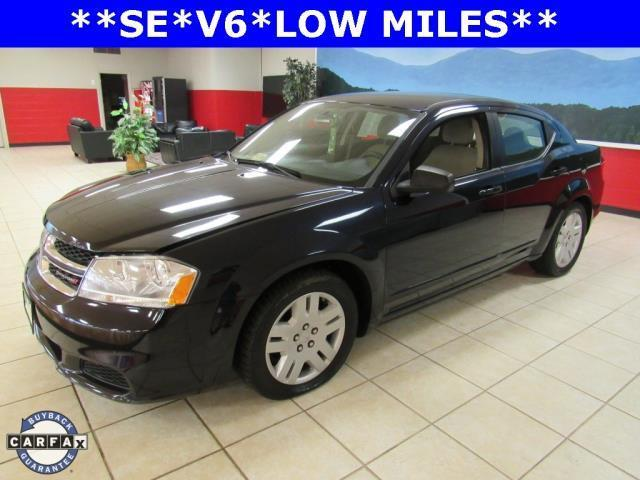 2012 Dodge Avenger SE SE 4dr Sedan