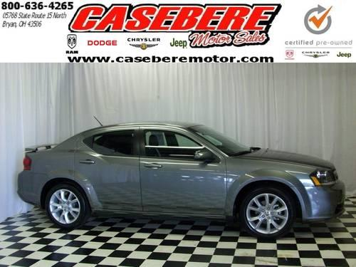 2012 dodge avenger sedan r t for sale in bryan ohio classified. Black Bedroom Furniture Sets. Home Design Ideas