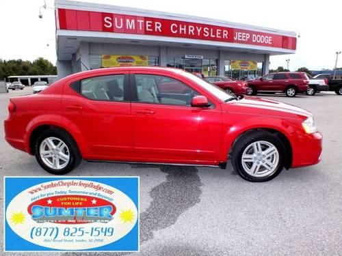 2012 dodge avenger sedan sxt for sale in bon air south carolina. Cars Review. Best American Auto & Cars Review