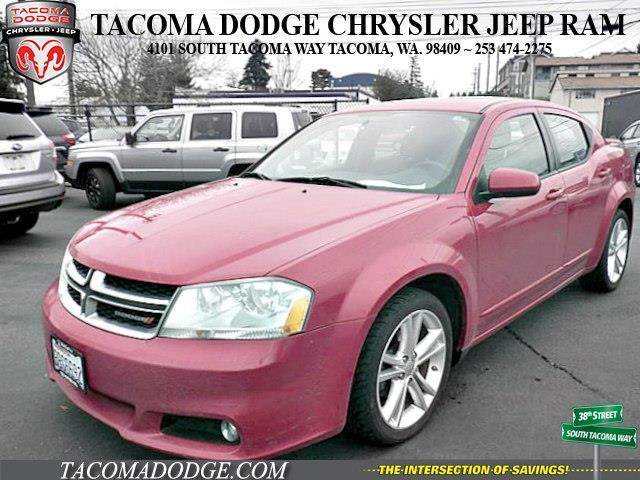 2012 Dodge Avenger SXT Plus SXT Plus 4dr Sedan