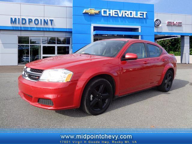 2012 Dodge Avenger Sxt Rocky Mount Va For Sale In
