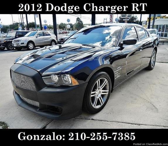 Dodge Charger For Sale: 2012 Dodge Charger RT For Sale In San Antonio, Texas