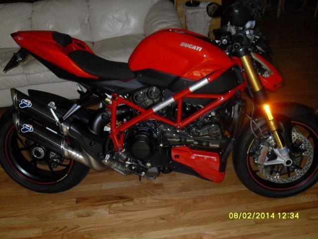 2012 Ducati Streetfighter 1098 S with Zero Miles