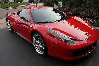 2012 Ferrari 458 Italia $290 sticker. LOADED!