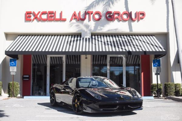 2012 Ferrari 458 Spider Base 2dr Convertible