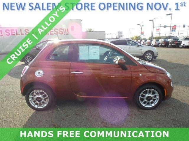 2012 FIAT 500 Pop Pop 2dr Hatchback